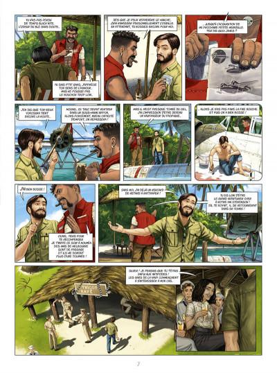 Page 7 Eagle, l'aigle à deux têtes tome 4