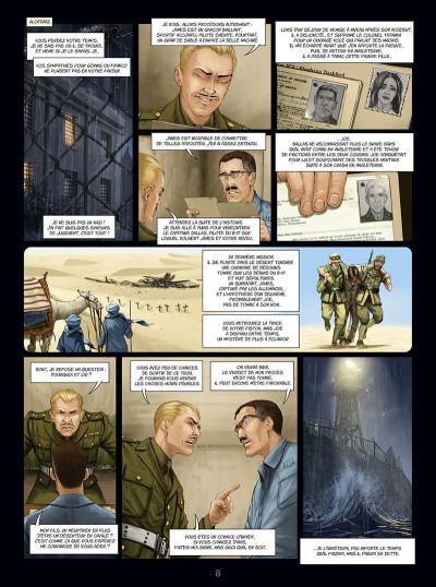 Page 8 Eagle, l'aigle à deux têtes tome 4