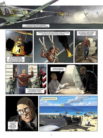 Page 4 Adler, l'aigle à deux têtes tome 4
