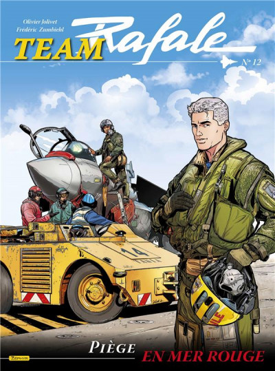 Couverture Team rafale tome 12