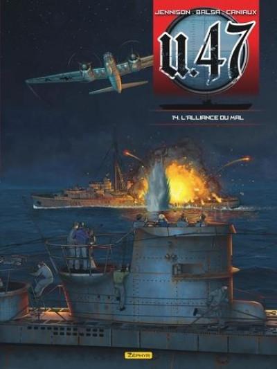 Couverture U-47 tome 14