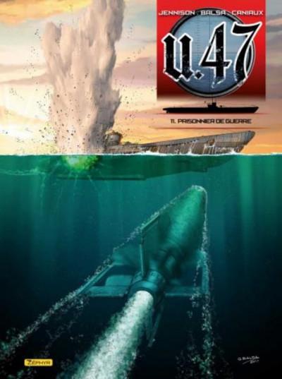 Couverture U-47 tome 11 - prisonnier de guerre + ex-libris