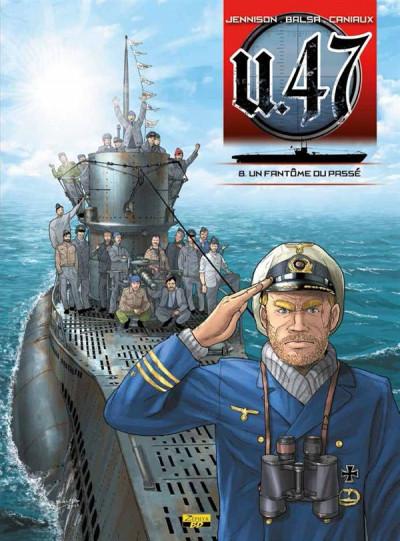 Couverture U-47 tome 8 + Doc et ex-libris