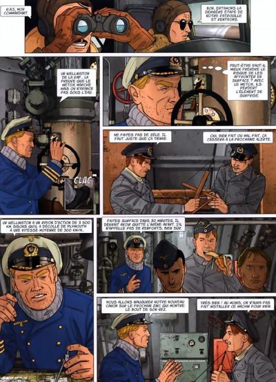 Page 1 U-47 tome 9 - chasser en meute (BD+doc+ex-libris)