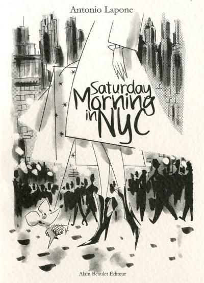 image de saturday morning in NYC