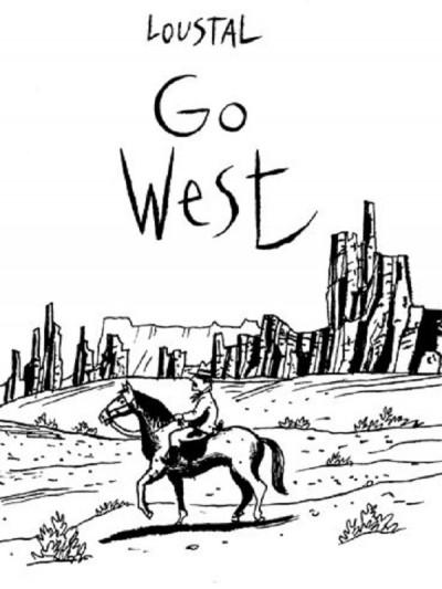Couverture Go west