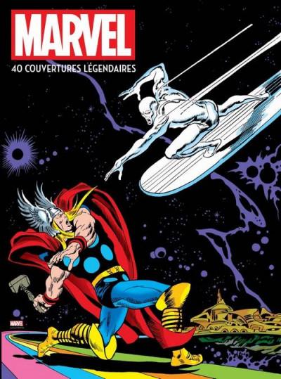 Couverture Marvel - 40 couvertures légendaires