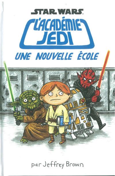 Couverture Star Wars - L'académie Jedi tome 1