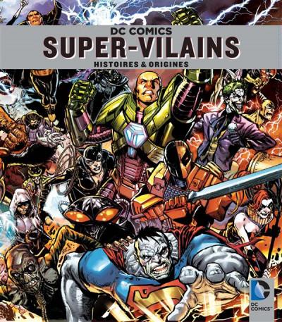 Couverture super-vilains DC - l'encyclopédie