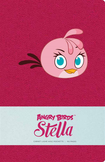 Couverture Angry birds - carnet Stella