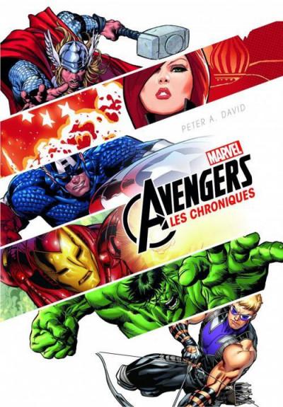 Couverture Marvel Avengers - les chroniques