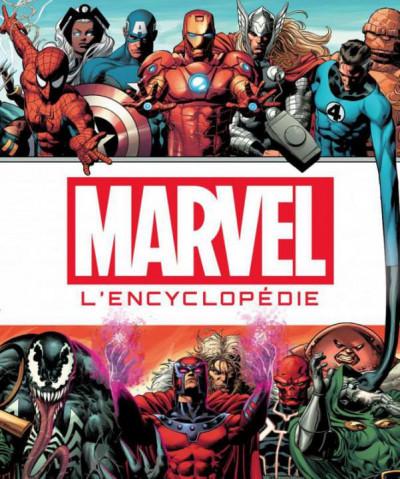 Couverture Marvel - la grande encyclopédie