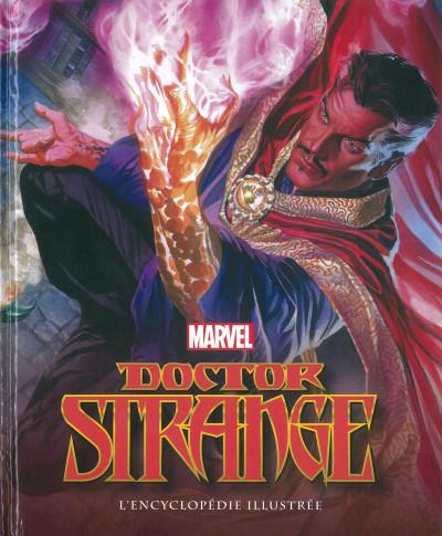 Couverture Docteur Strange - L'encyclopédie illustrée