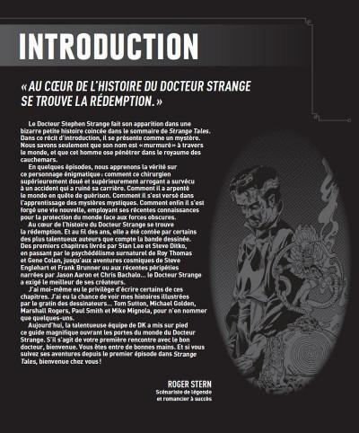 Page 3 Docteur Strange - L'encyclopédie illustrée