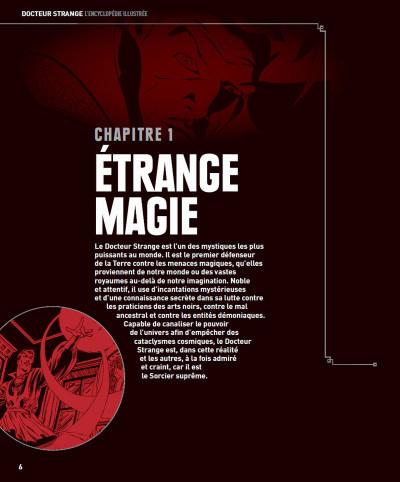 Page 4 Docteur Strange - L'encyclopédie illustrée
