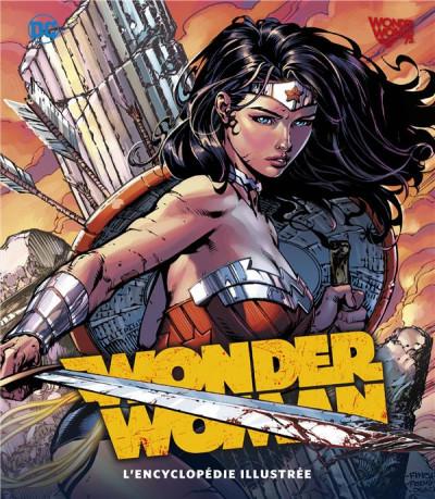 Couverture Wonder Woman - L'encyclopédie illustrée