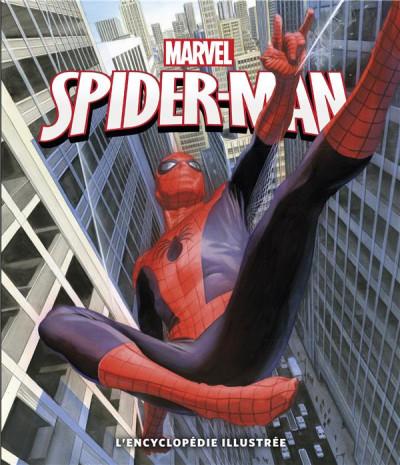 Couverture Spider-Man - l'encyclopédie Illustrée
