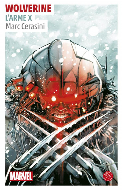 Couverture Roman marvel - Wolverine Weapon X
