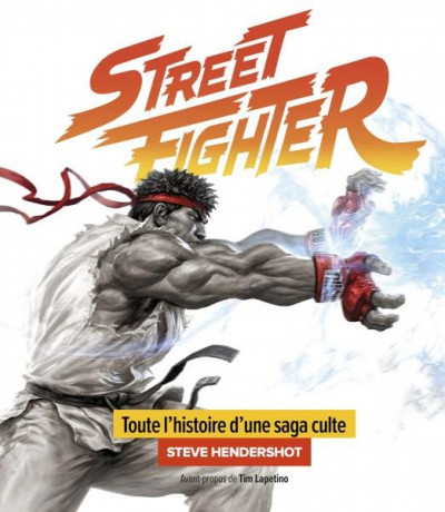 Couverture La saga street fighter