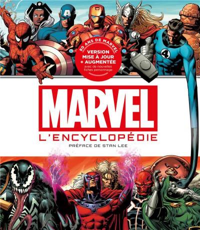 Couverture L'encyclopédie Marvel - édition 2019