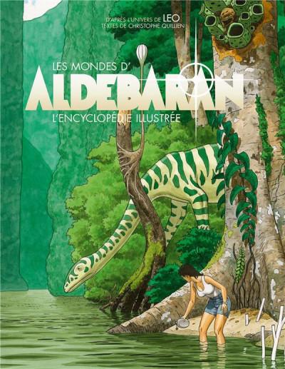 Couverture Les mondes d'Aldebaran - L'encyclopédie illustrée
