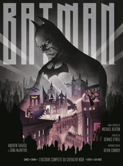 Couverture Batman, l'histoire complète du chevalier noir