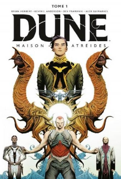 Couverture Dune - Maison Atréides tome 1