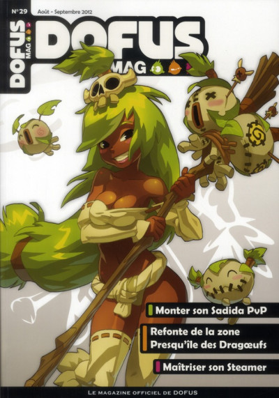 Couverture dofus mag tome 29
