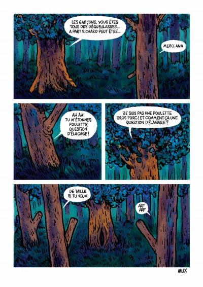 Page 3 Des Arbres et des glands
