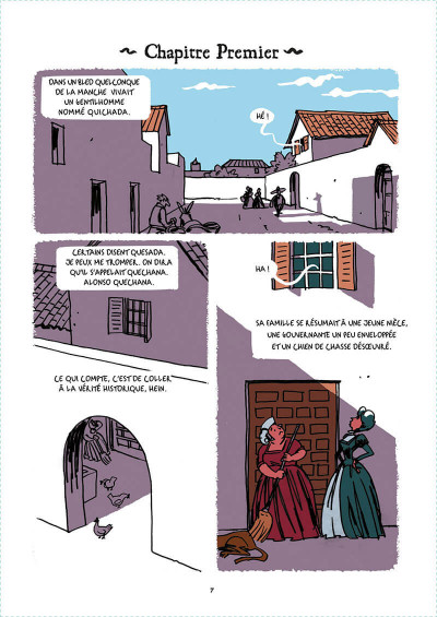 Page 4 Don Quichotte tome 1