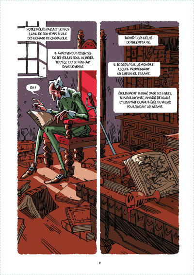 Page 5 Don Quichotte tome 1