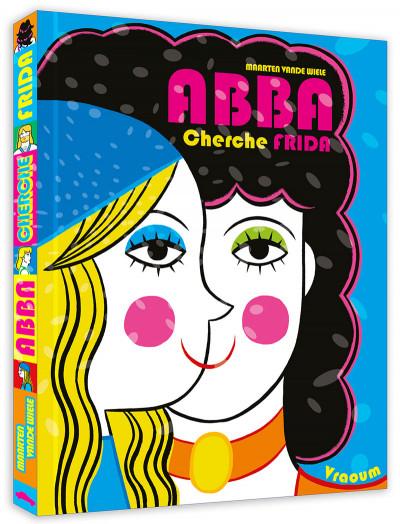 Couverture Abba cherche Frida