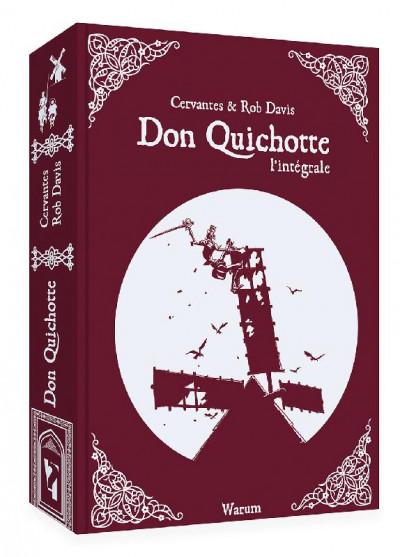 Couverture Don Quichotte - intégrale