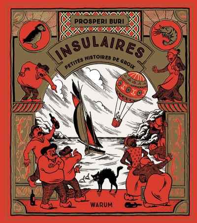 Couverture Insulaires - Petites histoires de groix