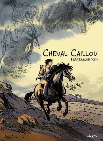 Couverture Cheval caillou