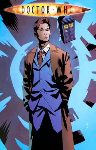 Couverture Doctor Who tome 4 - fugitif