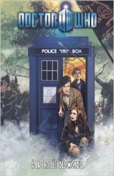 Couverture Doctor Who T.8 - à la croisée des mondes