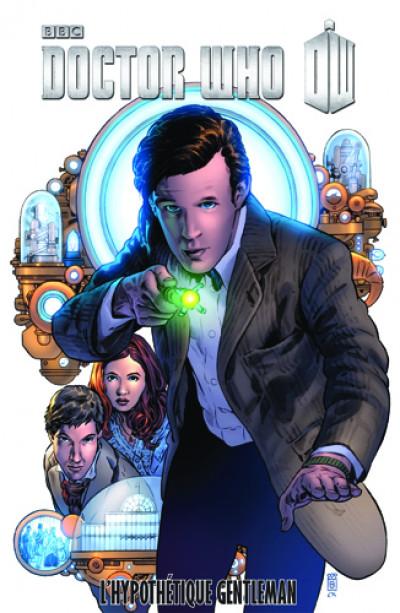Couverture Doctor Who tome 11 - l'hypothétique gentleman