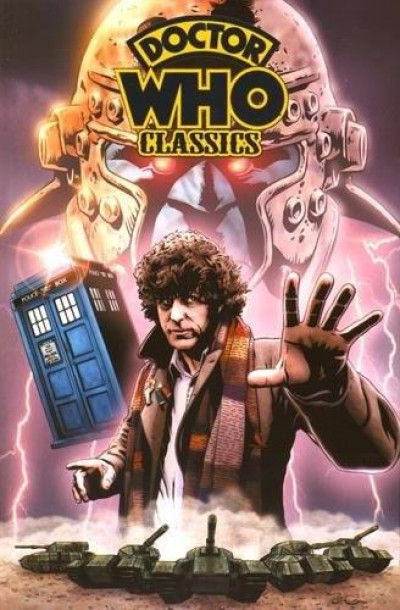 Couverture Doctor Who classics tome 1
