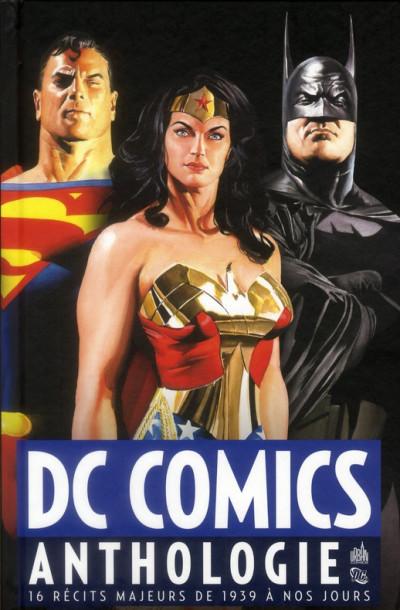 Couverture DC comics anthologie