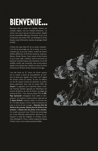 Page 2 DC comics anthologie