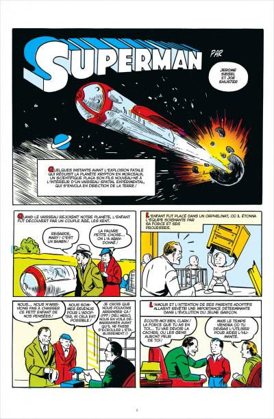 Page 6 DC comics anthologie