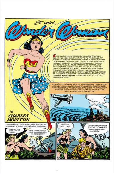 Page 9 DC comics anthologie