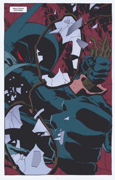Page 1 Batman ; amère victoire