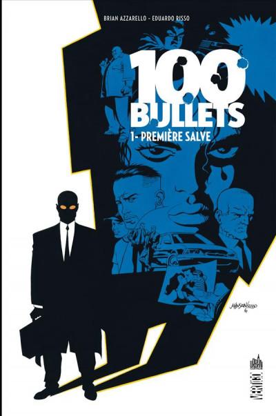 Couverture 100 bullets - cartonné tome 1