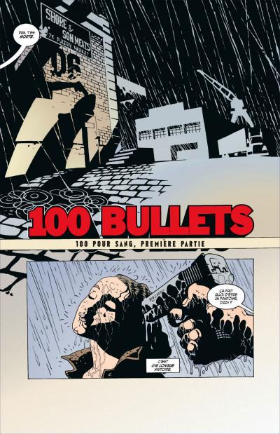 Page 5 100 bullets - cartonné tome 1