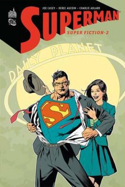 Couverture Superman - super fiction tome 2
