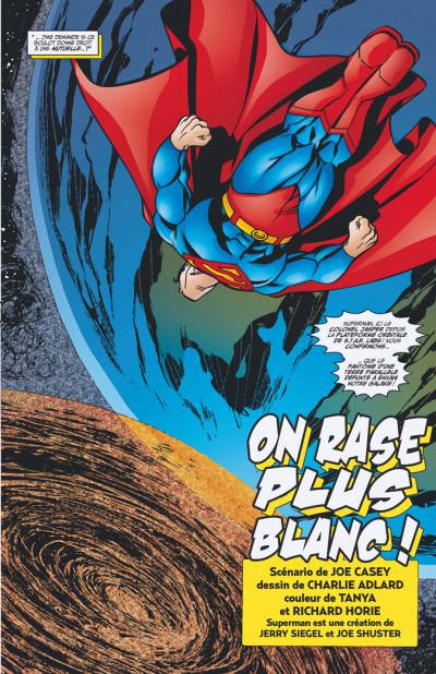 Page 3 Superman - super fiction tome 2