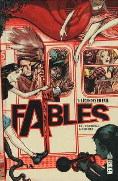 Couverture Fables tome 1 - légendes en exil (cartonné)