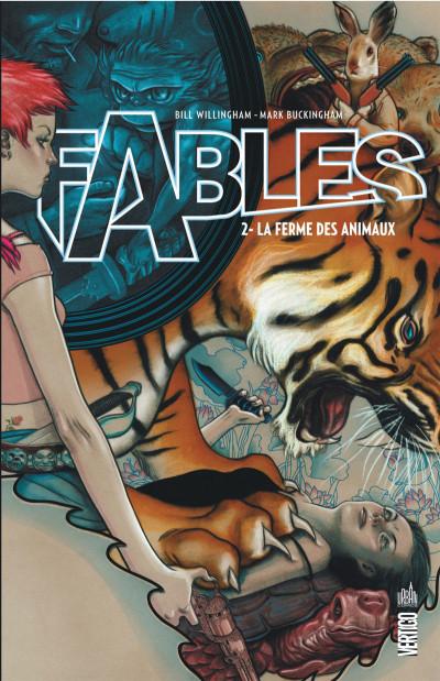 Couverture Fables tome 2 - la ferme des animaux (cartonné)